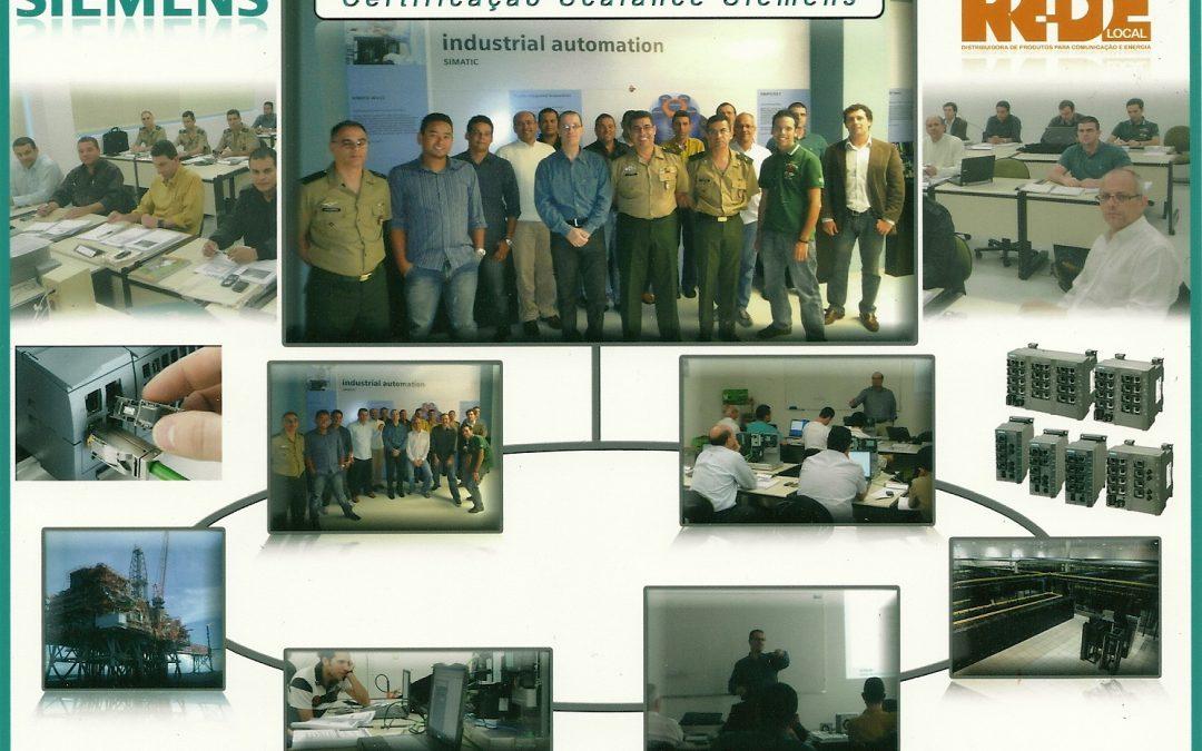 PRIMEIRA CERTIFICAÇÃO SCALANCE SIEMENS – REDE LOCAL DISTRIBUIDORA E SEUS INTEGRADORES – MAIO 2011